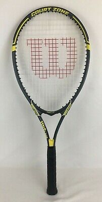 Wilson Court Zone Tennis Racket / Racquet Frame Stabilizer Gray/Yellow