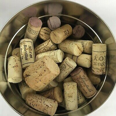 Wine Corks Lot Of 100 Corks - Used - Variety Of Brands - 99 Cork 1 Plastic