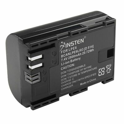 2800mAh Rechargeable Battery For Canon EOS 5D Mark II 2 LP-E6 LPE6