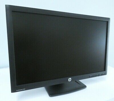 "Monitor Hp Prodisplay P221  22"" 1920X1080 Led Wide Dvi Vga  Pivot Grado A"