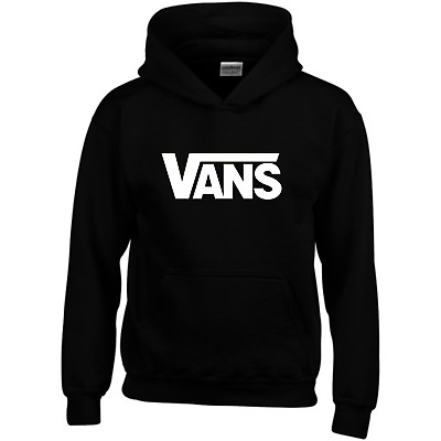 Kids Black and White Vans tribute hoodie, from age 3 - 4, Top Quality