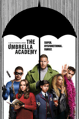 The Umbrella Academy Super Dysfunctional Family Maxi Poster 61cm x 91.5cm p34519