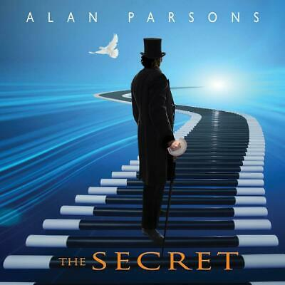 Alan Parsons - The Secret Sealed 2019 Deluxe Digimedia Book Cd + Dvd 2019