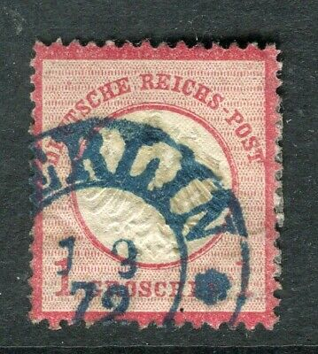 GERMANY; 1872 early classic Shield type used 1g. fine EARLY Postmark