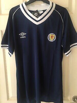 Scotland 1982 Home Retro Football Shirt