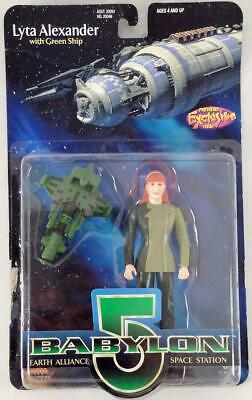 """Exclusive Premie Babylon 5 To Lyta Alexander w/Green Ship - 6"""" Action Fig MINT"""