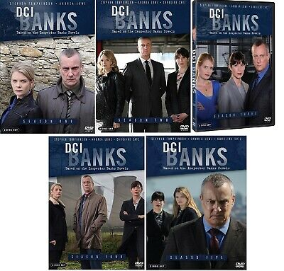 DCI BANKS Complete Series Seasons 1-5 DVD Bundle NEW Free Ship