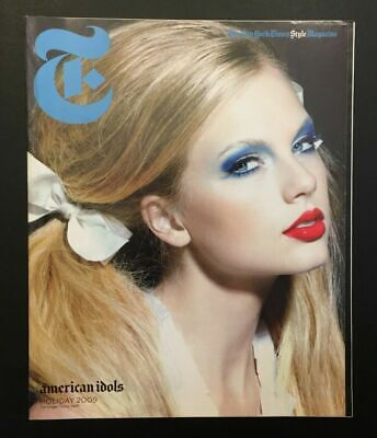 Taylor Swift - The New York Times Style Magazine - 2009 - Brand New & Unread