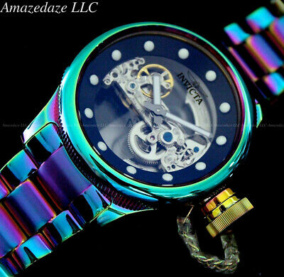 Invicta 52mm RussianDiver GHOST BRIDGE AUTOMATIC IRIDESCENT Stainless St Watch