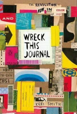 NEW Wreck This Journal By Keri Smith Paperback Free Shipping