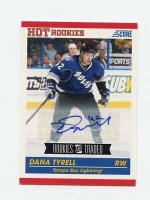 10/11 Score Rookies & Traded Rookie Rc Autograph Auto #643 Dana Tyrell *64136