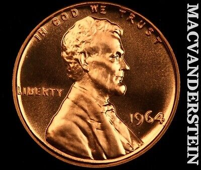 1964 Lincoln Memorial Cent-Choice Gem Proof!! No Reserve! #G4190