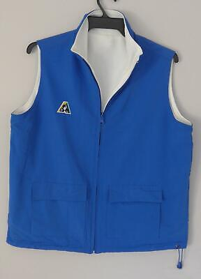 Lawn Bowls Clearance: NEW Domino Reversible Vest Sz 12 Light Royal POST INCLUDED