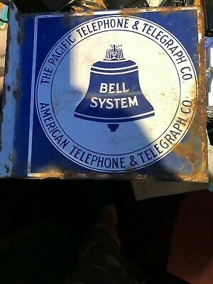 Vintage Bell System Pacific Telephone & Telegraph American Telephone & Telegraph