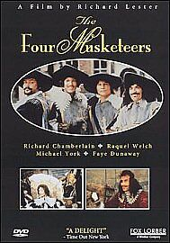 The Four Musketeers (Digitally Restored) [Blu-ray], New, DVD, FREE & Fast Delive