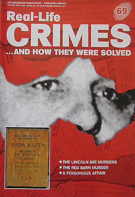 Real-Life Crimes Issue 69 - Dennis Smalley the Lincoln Axe murders, Marymont