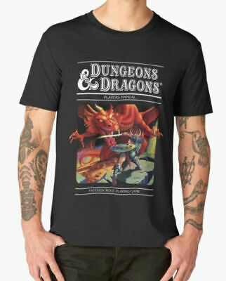 RARE!!New Dungeons and Dragons - D&D Men's T-shirt size S-3XL
