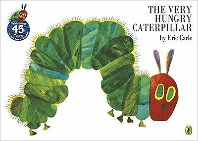 The Very Hungry Caterpillar [Board Book] by Eric Carle, NEW Book, FREE & Fast De