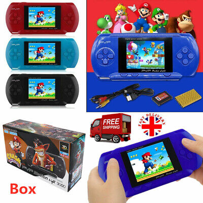 PVP 3000 Retro Game Player Video Portable Handheld Digital Console Games + Card