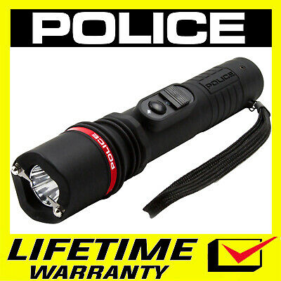 STUN GUN POLICE 305 170 BV Rechargeable With LED Flashlight