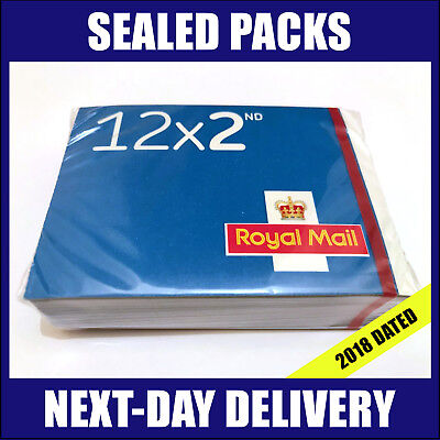 600x 2nd Class Postage Stamps NEW GENUINE Self-Adhesive SEALED PACK Stamp Second