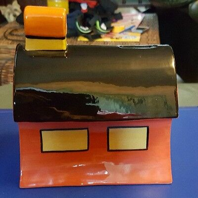 Lorna Bailey House Money box Limited Edition 68/100 Old Ellegreave FREE P&P