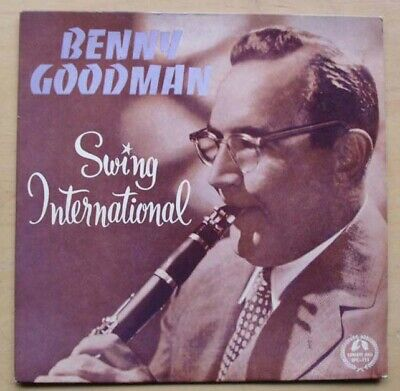 Benny Goodman Swing International Ep 1963 In Nice Clean Cover With Only Light Us