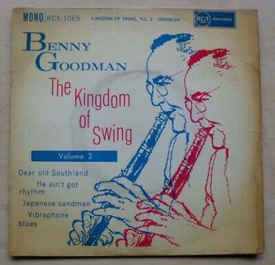 Benny Goodman Kingdom Of Swing Vol.2 Ep 1961 Ep Has Some Surface Marks And Shelf