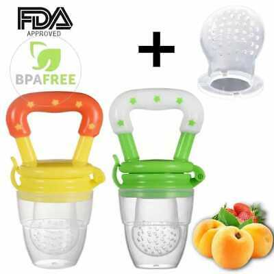 Baby Food Pacifier Fresh Fruit Feeder Infant Teething Toy HOT SALE/HIGH QUALITY!