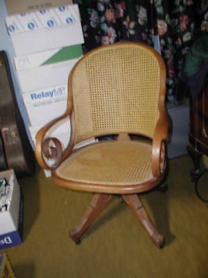 Heywood Wakefield Antique Desk Chair Hand Made Good Cnd 1896 60187 Pickup