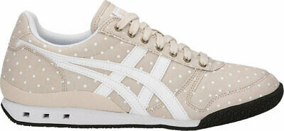 Womens Onitsuka Tiger Ultimate 81 Beige Canvas Retro Casual Trainers Shoes Size