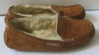 4a4bb0befbb WOMEN'S SHOES UGG Ansley Moccasin Slippers 3312 Chestnut 5 6 7 8 9 ...