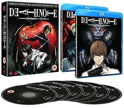 Death Note: Complete Series And Ova Collection [Blu-ray], New, DVD, FREE & FAST