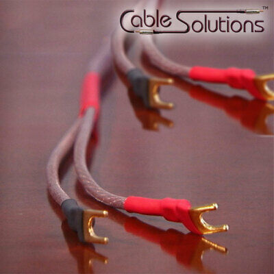CS o2x 12 AWG OFHC Speaker Cables w/Vampire Wire, 3m