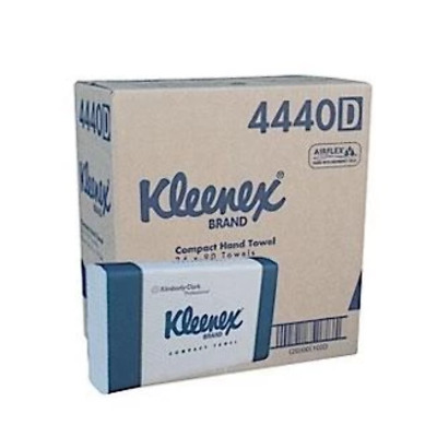 Kleenex Compact Hand Towels with Airflex (24 packs x 90 sheets)