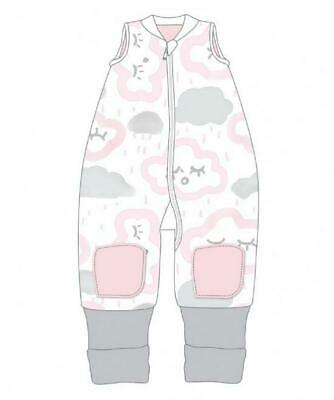 Baby Studio Coolies Sleeping Bag, 1.0 Tog (Pink Clouds) - 2-3 Years Free Shippin