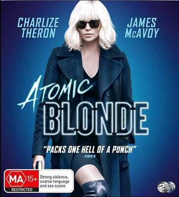 Atomic Blonde | Blu-Ray + UHD + UV - Blu Ray Region B Free Shipping!