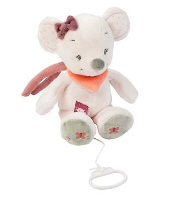 Nattou Adele & Valentine Collection - Musical Plush Toy (Valentine The Mouse) Fr