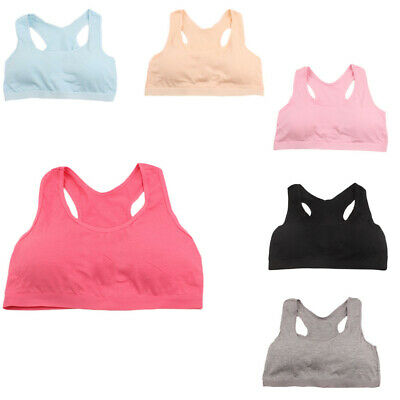 Kids Girls Underwear Bra Vest Children Underclothes Sport Undies Clothes 10-15T
