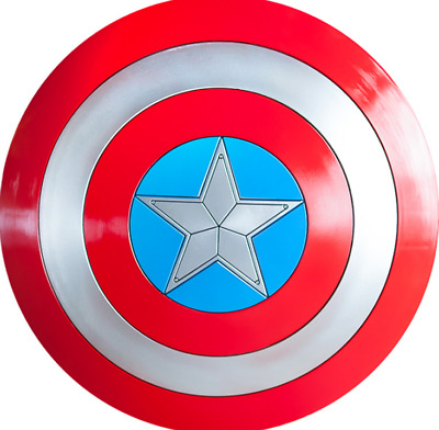 New Avengers 3 Captain America Shield 1:1 Full Shield Cosplay Props Decoration