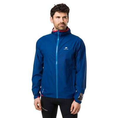Raidlight Active MP+ Jacket Regenjacke Laufjacke blau