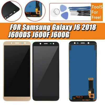 Per Samsung Galaxy J6 (2018) Sostituzione Touch Screen Digitizer LCD Display oro