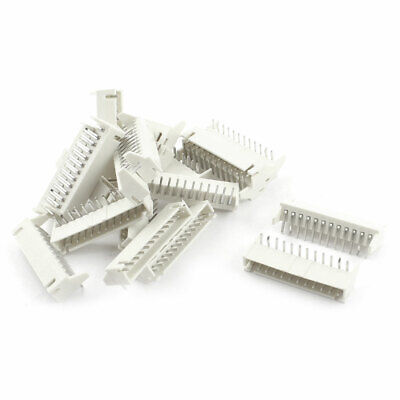 20pcs Right Angle 2.54mm Spacing 12 Pin JST XH Connector Header White