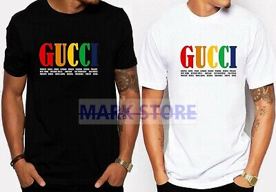 6a3228a68 HOT New 99Guccy0.2019 Colorfull LIMITED EDITION Men's Black White Tshirt