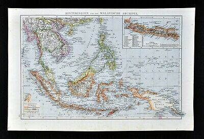 East Indies//Asia Replica J Speed c1626 Old Map ALL HAND COLOURED A UNIQUE Gift
