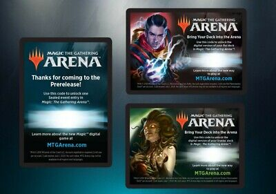 MTG Arena promo Code Prerelease War of the Spark free draft competitive