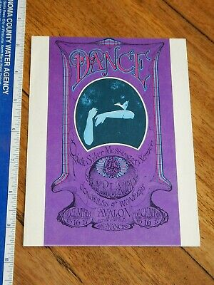 1967 Quicksilver Family Dog Avalon Concert Handbill Fd-96, Mouse, Kelley Art