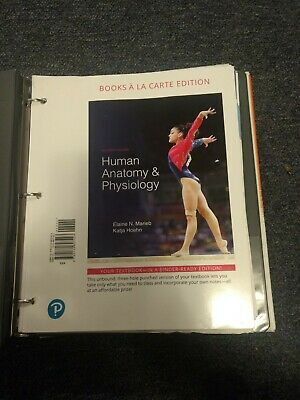 HUMAN ANATOMY AND Physiology A La Carte Edition 11th Ed NEW