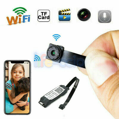 Wireless HD 1080P Digital Video Motion Activated Camera WiFi Mini Hidden Spy Cam