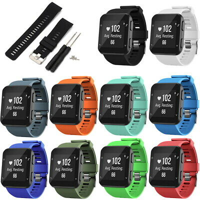 Replacement Wrist Strap Silicone Bracelet Band For Garmin Forerunner 35 Watch